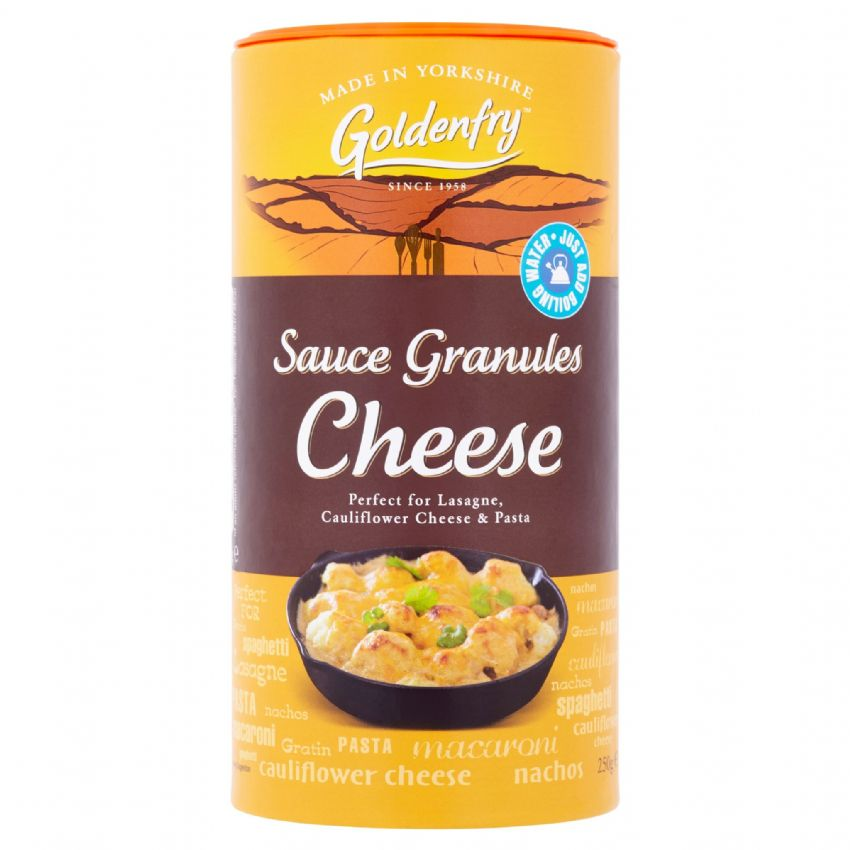 Cheese Sauce Granules Goldenfry Tub 250g